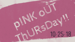 pink out thursday october 25 westminster academy